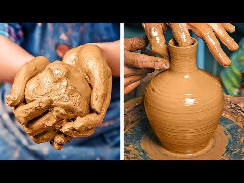 Mesmerizing Clay Pottery Tricks To Satisfy Your Aesthetic Sensation