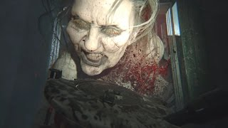 Resident Evil 7 Biohazard - All Boss Fights / All Bosses MADHOUSE DIFFICULTY