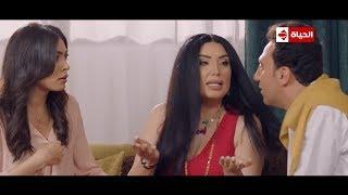 ربع رومي | كوميديا محمد سلام مع عبير صبري وإنقاذها من ورطتها مع الشاب التركي