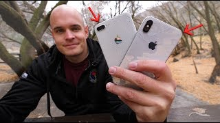 iPhone X DROP TEST - The most Expensive glass ever on a smartphone!!