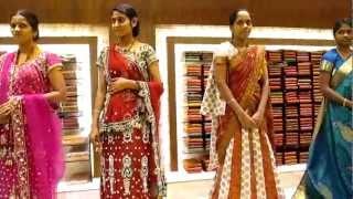 Jayalakshmi Silks Saree Display @ Trivandrum