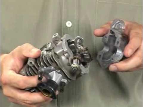 Como funciona o motor dois tempos parte 1