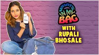 Rupali Bhosale Ft. What's In My Bag | Big Boss Marathi Season 2 | Tenali Rama