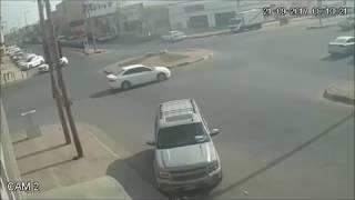 حادث شنيع والسبب السرعة الزائدة