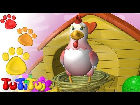 TuTiTu Animals | Animal Toys for Children | Hen