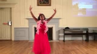 Sridevi- Hawa Hawai- Mr.India -Dance performance by Suhani