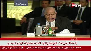 """كلمة د. عباس الزعفراني خلال جلسة المشروعات القومية والبنية التحتية بمؤتمر """"حكاية وطن"""""""