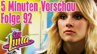 5 Minuten Vorschau - SOY LUNA Folge 92 || Disney Channel