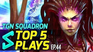 TGN Squadron's Top 5 Plays in Heroes of the Storm | Episode 44