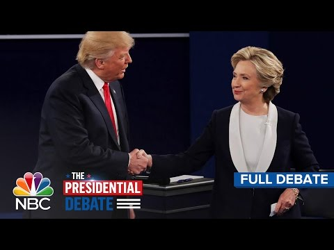 Xxx Mp4 The Second Presidential Debate Hillary Clinton And Donald Trump Full Debate NBC News 3gp Sex