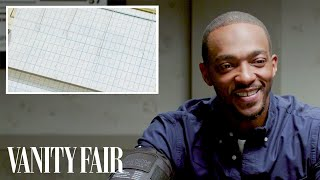 Anthony Mackie Takes a Lie Detector Test | Vanity Fair