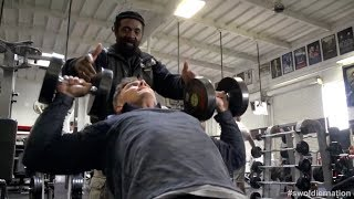 Swoldier Nation - Trainer Edition - Chest & Back with Charles Glass