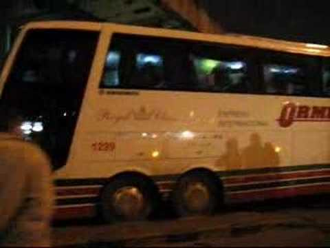 Bus de Expreso Internancional Ormeño