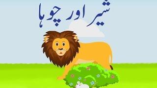 Sher Aur Chooha (Urdu Story)   (شیر اور چوہا (اردو کہانی