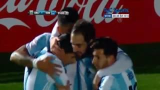 Argentina vs Honduras 1-0 All Goals & Highlights 5-27-2016