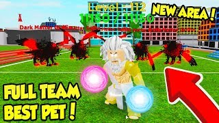 FULL TEAM OF THE NEW BEST PETS IN GOD SIMULATOR UPDATE!! *INSANE* (Roblox)