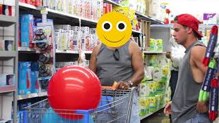 Sneaking Things in People's Grocery Carts W/ NELK