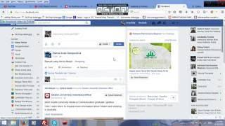 [Cyber Crime] Cara Merubah Status Facebook dan Twitter Teman
