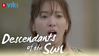 Descendants of the Sun - EP5 | Song Joong Ki Covers Up Wet Song Hye Kyo [Eng Sub]