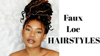 How To Style Faux Locs & FINAL SALE