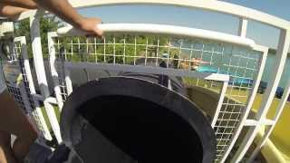 Falling Into the Black Hole Water Slide