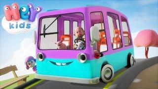 Koła Autobusu Krecą Się - Piosenki dla dzieci po polsku