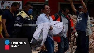 Confirman 25 fallecidos en el colegio Rébsamen tras sismo de 7.1 / Primera Emisión