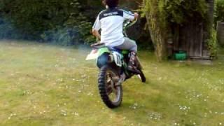 Kawasaki KDX200 demo