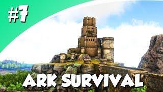 ONZE NIEUWE BASIS! (Ark Survival Evolved #7)