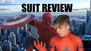 MCU CIVIL WAR SPIDER-MAN SUIT REVIEW!!