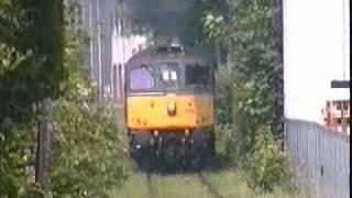 Class 33, Power Chatham Dockyard Branch action mega thrash.wmv
