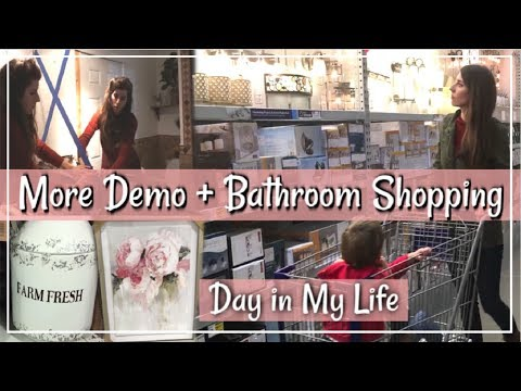 Xxx Mp4 Bathroom Demo Home Decor Shop With Me SAHM Day In The Life Momma From Scratch 3gp Sex