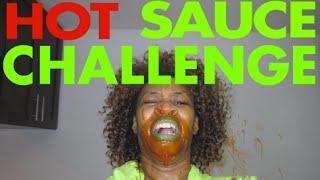 GloZell's Hot Sauce Challenge!