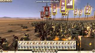 Rome total war 2 battles:  Persia vs Sparta #Epic Cavalry Charge