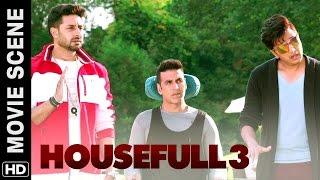 Ladkiyon Ka Paisa Hum Teeno Ko Malamaal Kar Dega | Housefull 3 | Movie Scene