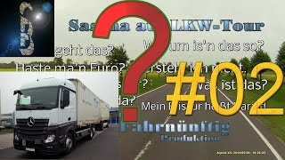 """Sascha auf LKW-Tour - FAQ02 (Vom Eco-Modus PPC im Mercedes """"Neuer Actros"""" [MP4] und den Nachteilen)"""