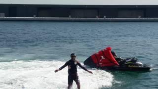 Turkiye Flyboard sporculari.