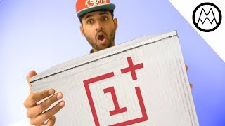 MYSTERY UNBOXING FROM ONEPLUS!!!