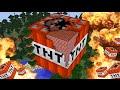 Minecraft Tnt Timelapse + Explosion!