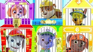 Paw Patrol Preschooler Learning Video for Toddlers in Jail Rescue Break Game for Kids