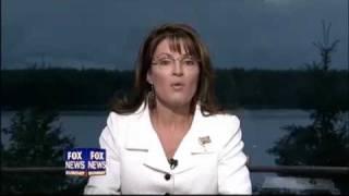 Palin Says Obama Lacks Cojones
