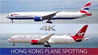 Hong Kong Plane Spotting 4K Summer 2016 + Sunset Timelapse