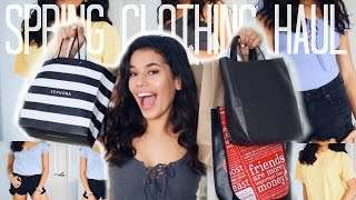 SPRING CLOTHING & BEAUTY HAUL // TRY-ON