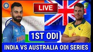 LIVE SCORE I Australia vs India 1st ODI match 2019 live Streaming I Aus vs Ind