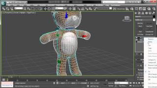 Tutorial Uso de skin y bones en 3d Max