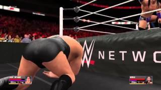 Neville vs Andre The Giant WWE2K16