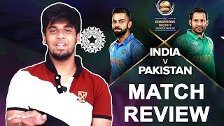 India VS Pakistan Match Review : ICC Champions Trophy | Why Dhoni Didn't Bat ? Reasons For Victory ?