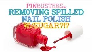 Use Sugar To Pick Up Nail Polish // DOES THIS LIFE HACK WORK?