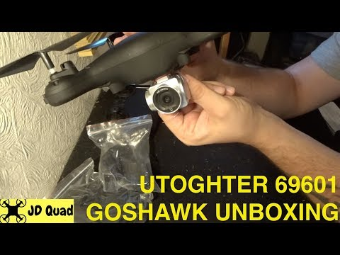 Xxx Mp4 Utoghter 69701 Goshawk WiFi FPV Drone Unboxing Video 3gp Sex