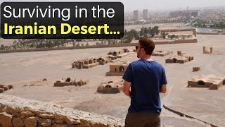 Surviving in the Iranian Desert? (Yazd, Iran)